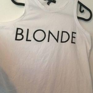 Blonde Tank Top